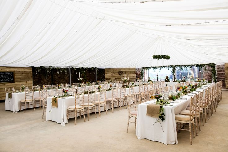 The Cow Shed Crail marquee looking great #suzanneblackphotography #weddings #scotland #fife #diywedding #standrews