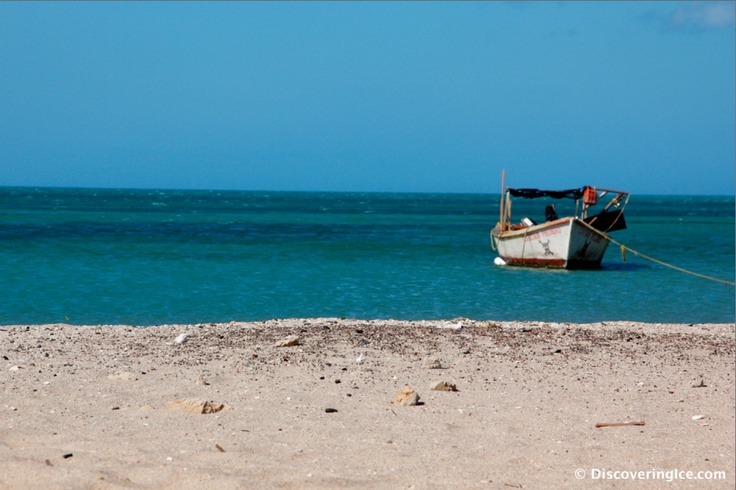 Our view in the morning...camping on the beautiful and deserted beaches of Cabo de la Vela, La Guajira, #Colombia