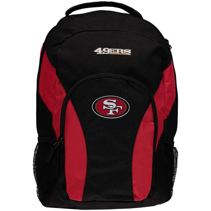 San Francisco 49ers Draft Day Backpack - Black