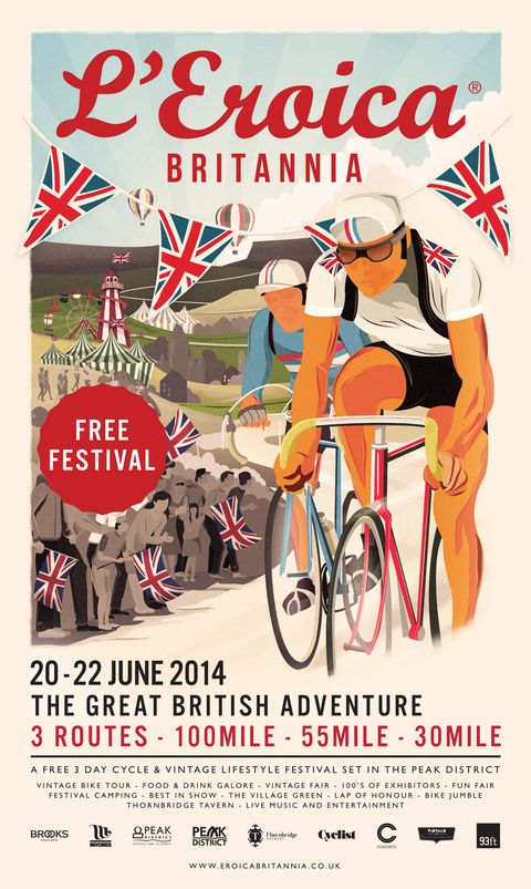 L'Eroica Britannia Poster