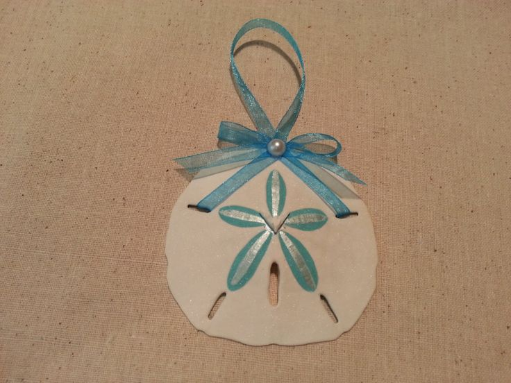 Hand+Painted+Sand+Dollar+Ornament+by+RobinVenitaStudio+on+Etsy,+$5.95