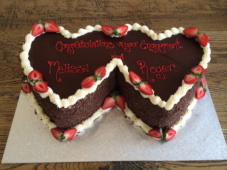 joined at the heart - Sweet Designs by Claire #specialoccasion #custom #design #cake #love #hearts
