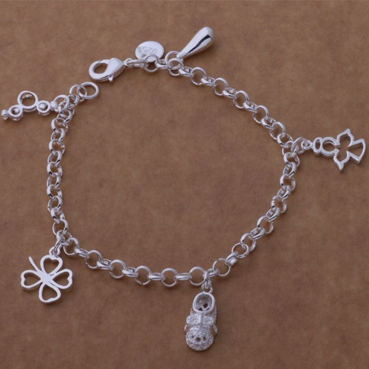 Aliexpress.com : Buy flower drop water Wholesale silver plating bracelet, Silver plated fashion jewelry /AGYWRLBE ESSQHQAL from Reliable jewelry bracelet gold suppliers on yinfen guo's store