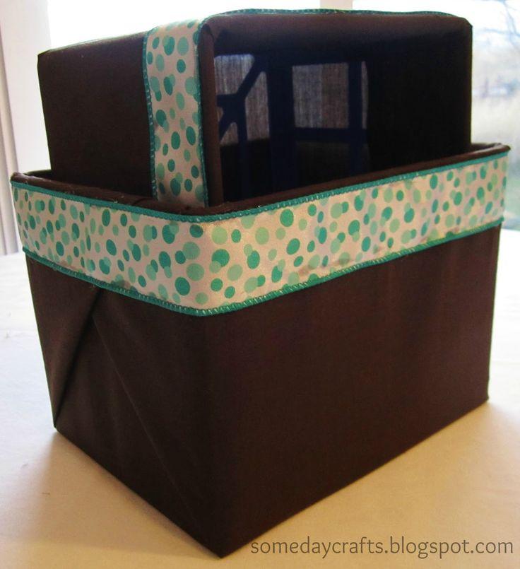 Someday Crafts: Dollar Store Basket Makeover