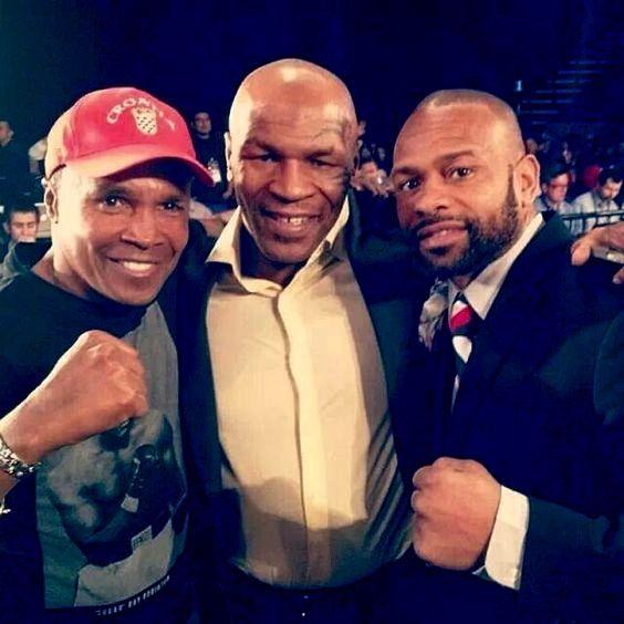 Modern boxing greats - Ray Leonard, Mike Tyson and Roy Jones Jr.