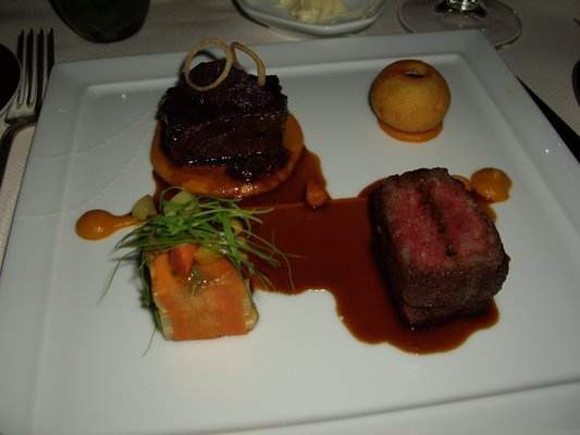 Duo of Dry Aged Black Angus Beef from Daniel