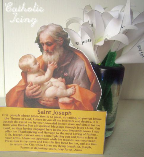 Interactive St. Joseph novena for Catholic kids. (Free to download and print!)
