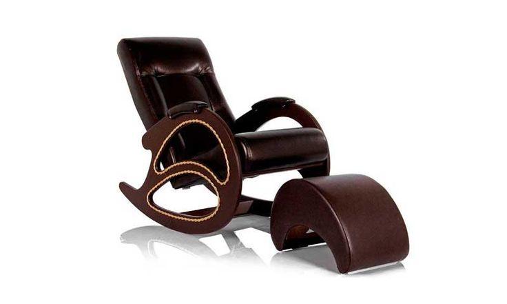 Кресло-качалка с банкеткой...
