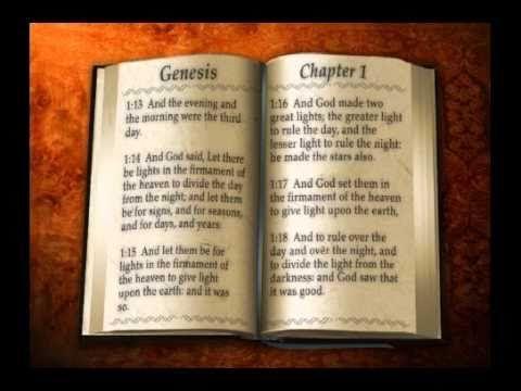 Scourby Bible Study APP - Genesis 1 KJV Bible