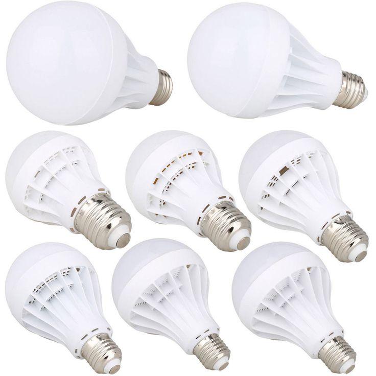 Energy Saving E27 LED Bulb Light 3W 5W 7W 9W 12W 15W 20W Globe Lamp 110V 220V