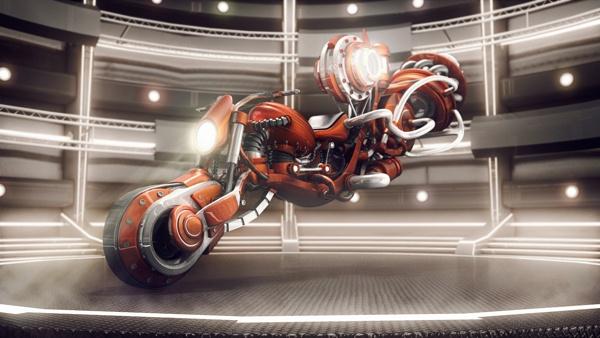 Futuristic Motorcycle Concept by Anuar Bykovskiy, via Behance  http://www.behance.net/gallery/Futuristic-Motorcycle-Concept/5844569#