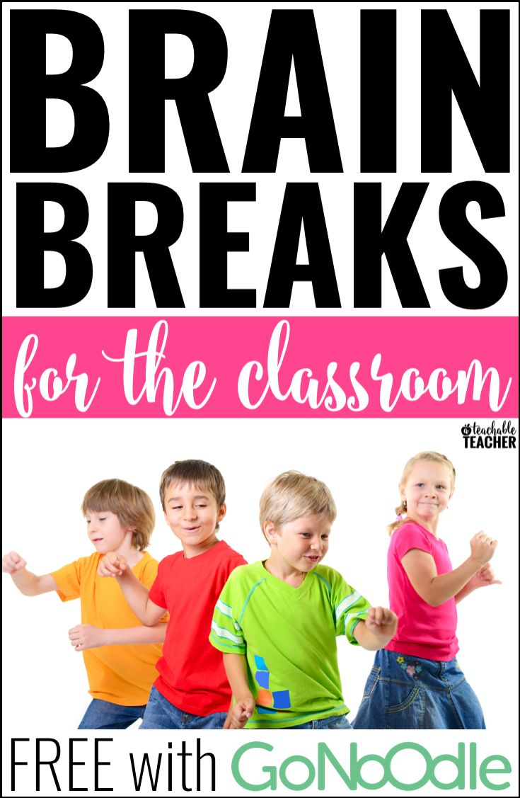 Brain breaks for the elementary classroom - This post teaches all about where to find the best brain break videos.  Best of all, they're all FREE with GoNoodle!