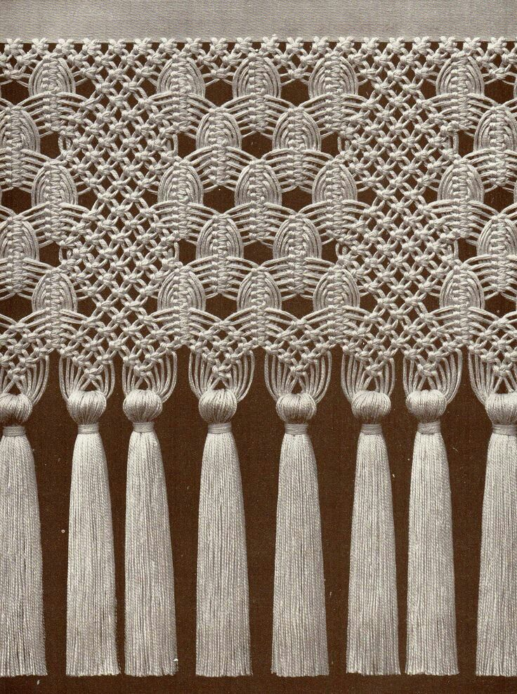 Main qimg c center diamond macrame pattern