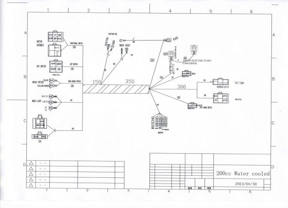 zongshen 250 atv wiring diagram diagram diagram, atv, wire Yamaha Mini ATV Racks