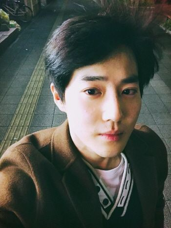 "Suho - 161107 Official EXO-L website update: ""1일 1준면"" ('1 day 1 Junmyeon')"