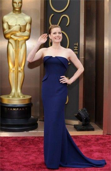 Look delle star agli Oscar 2014: Amy Adams in Gucci Premiere