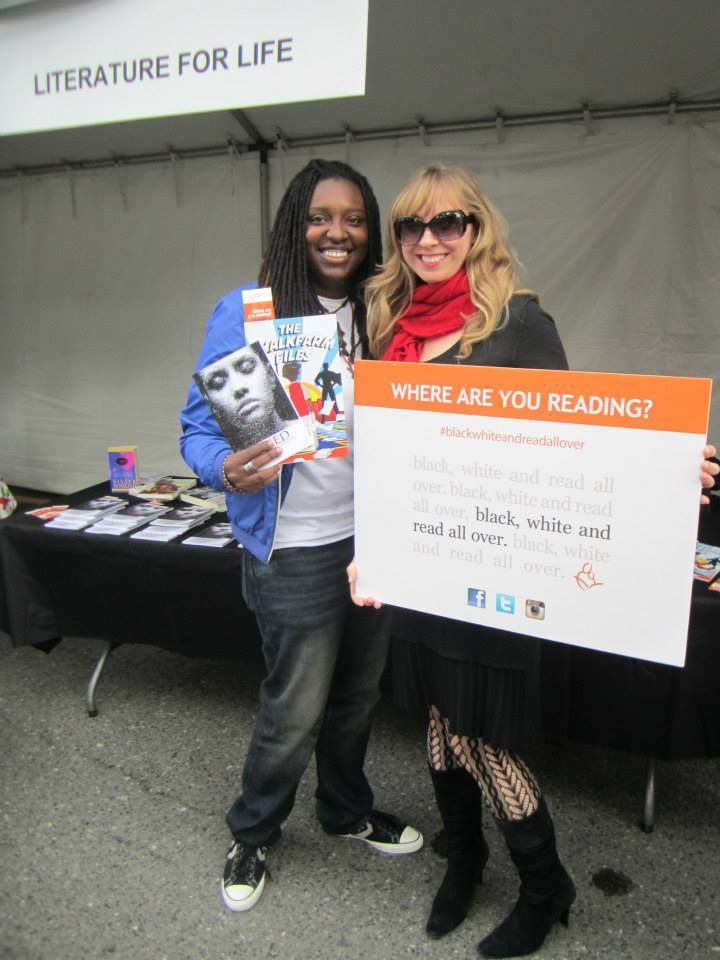 Literature for Life was at Word on the Street celebrating the power of reading to change lives. Where are you reading? Post pictures of you and your current reads with the#blackwhiteandreadallover hashtag and join in! To see more, visit our facebook page