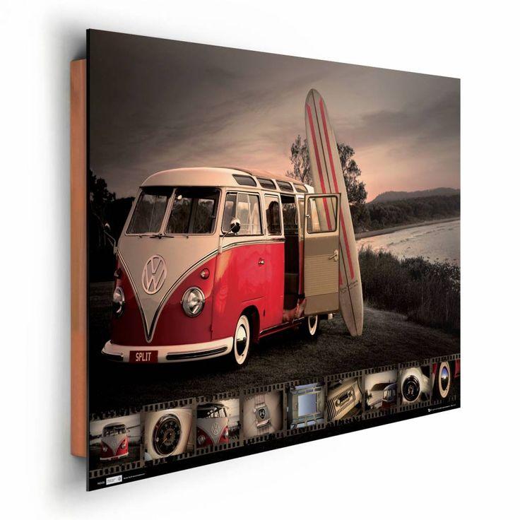 Volkswagen busje   Schilderij   REINDERS!