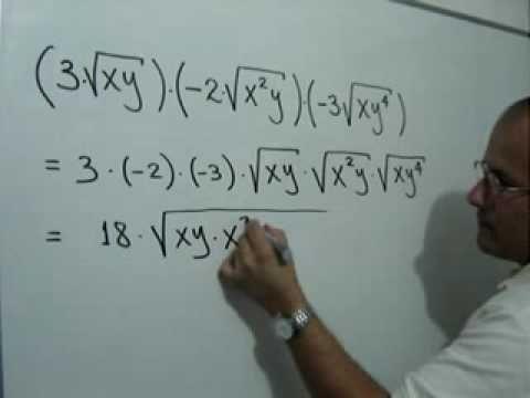 Multiplicación de radicales del mismo índice: Julio Rios explica cómo multiplicar radicales algebraicos del mismo índice
