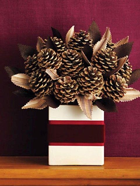 Simple cone arrangement. The box does it.