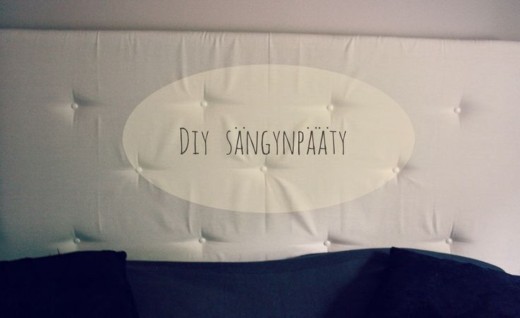 Mintun päiväkirja : DIY / Itsetehty sängynpääty napeilla