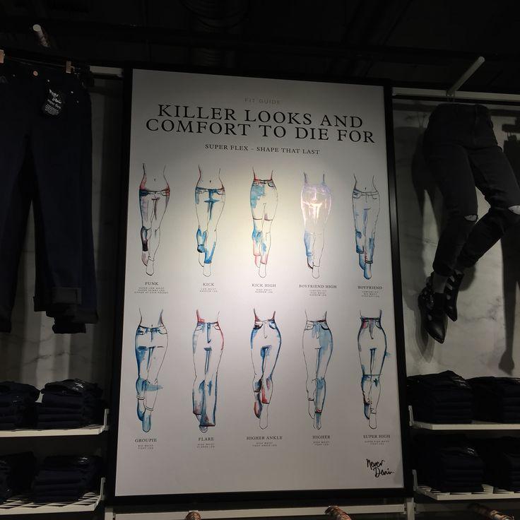 Jeans bik bok fashion