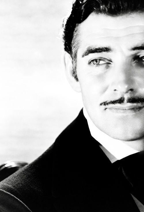 "hollywoodlady: "" Clark Gable as Rhett Butler """