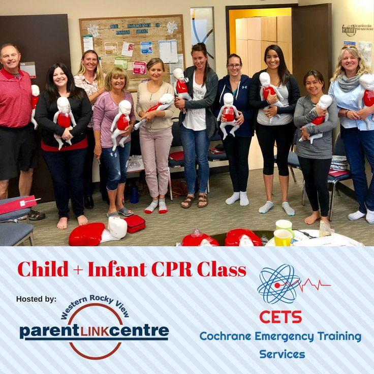 Cochrane Parent Link CPR Child and Infant Focused Class