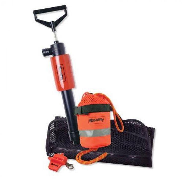 scotty paddlesports accessory kit w/544k pump bag  Scotty 794 #Paddle #Sports #Accessory #Kit comes with 544K Kayak Hand Pump, throw bag, lifesaver whistle and a reusable mesh bag.