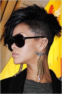 Sunglasses - hair and cool earrings