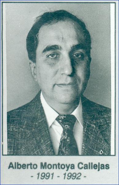 Alberto Montoya Callejas 1991-1992