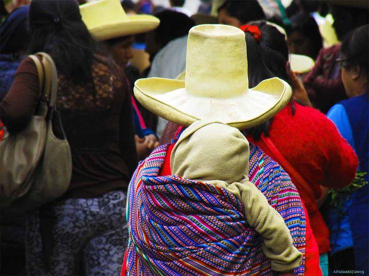 Un'istante di vita al mercato - Cajamarca Perù