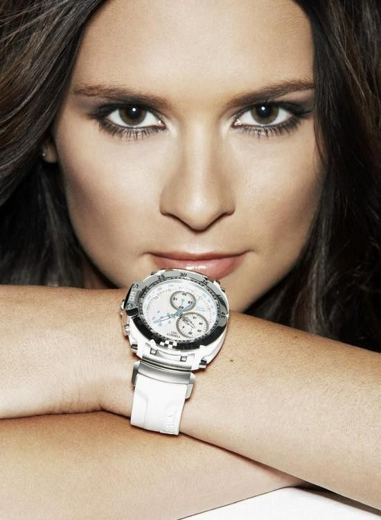 #Nascar race driver, #Danica Patrick, is the brand ambassador for #Tissot