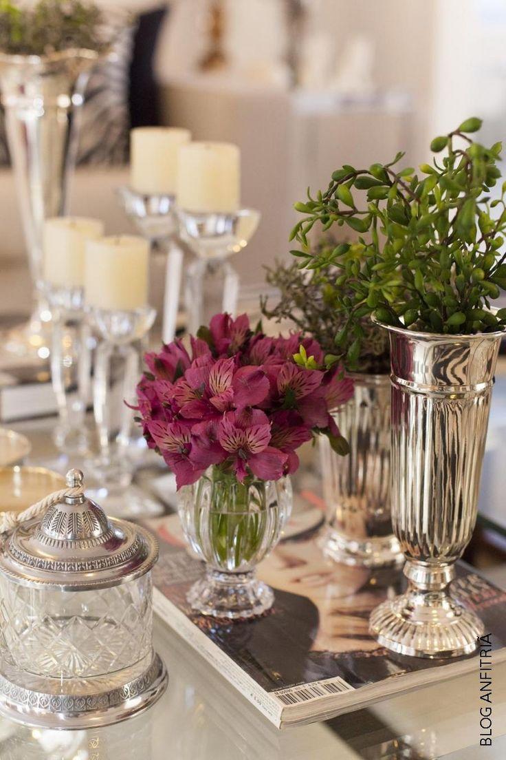 decorar a mesa de centro | Anfitriã como receber em casa, receber, decoração, festas, decoração de sala, mesas decoradas, enxoval, nosso filhos
