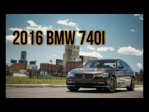 2016 BMW 740i, The sixth-generation 7-series