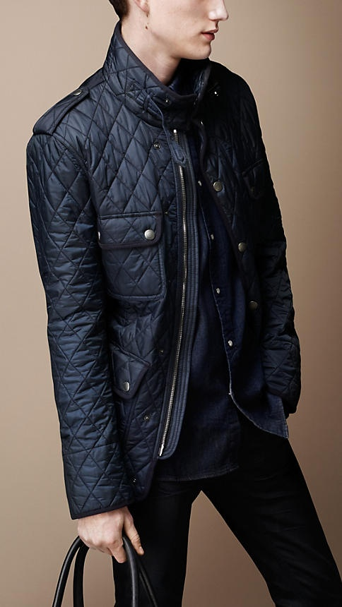 Burberry Heritage Quilted Caban ~ even if this is for men, i'd still wear it!