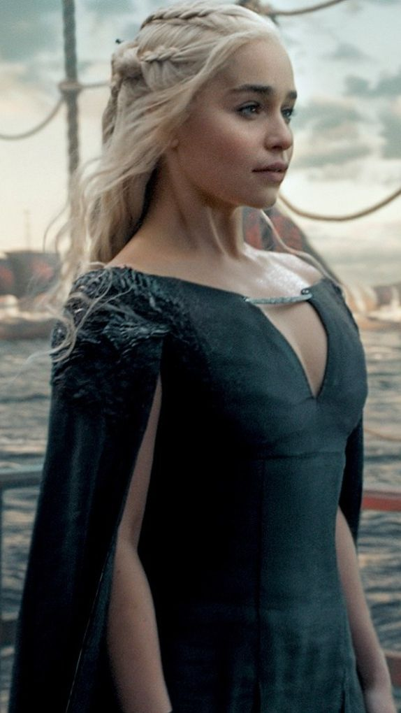 The women of Game of Thrones have come a long way since season 1. Here's Khalessi aka Daenerys Targaryen, in the season 6 finale.