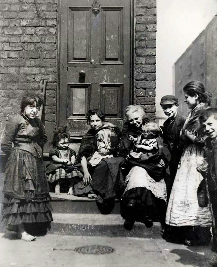 Gerard St Area Liverpool 1895 The Victorian World