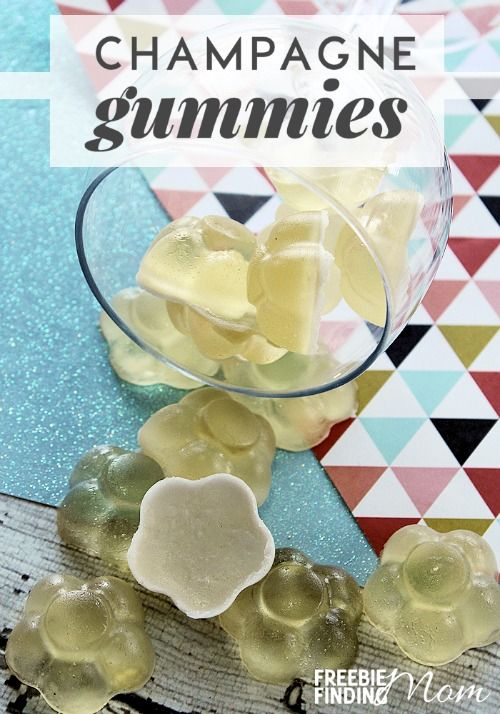 Want to ramp up the fun at your next adult party? Take a few minutes and make these Champagne Gummies. Whether you are toasting to the New Year, celebrating Christmas or just hosting a fun gathering with friends and family this homemade gummy candy for adults is the perfect party treat.