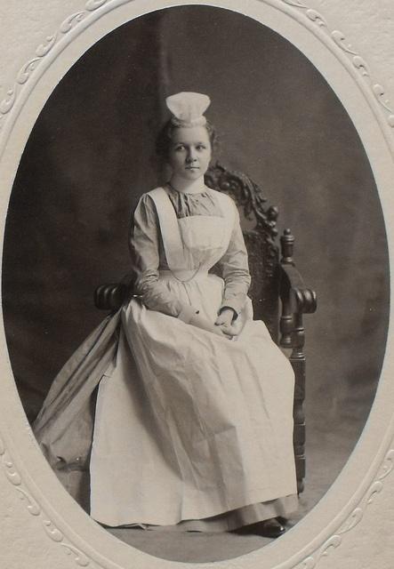 Memphis City Hospital Training School for Nurses - Student Photograph 1900