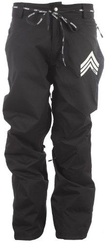 Grenade R.E.G. Snowboard Pants Black Mens Sz L 10K/10K. Breathable/waterproof. Zip & velcro pocket closures. Inner leg gaiters. Zipper vents with mesh lining.  #Grenade #Apparel