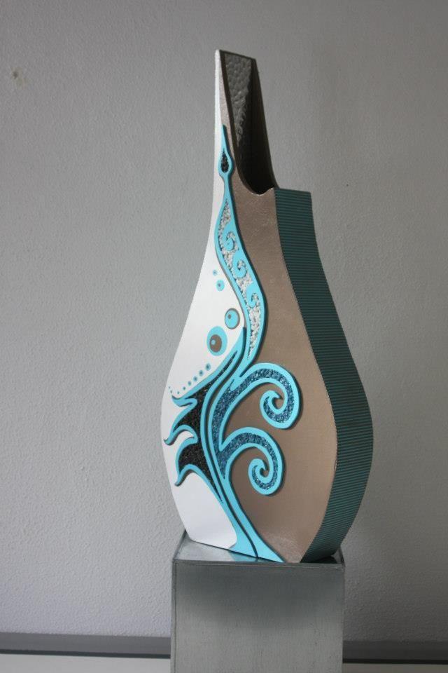 17 beste idee n over blauwe vazen op pinterest aqua glas - Blauwe turquoise decoratie ...