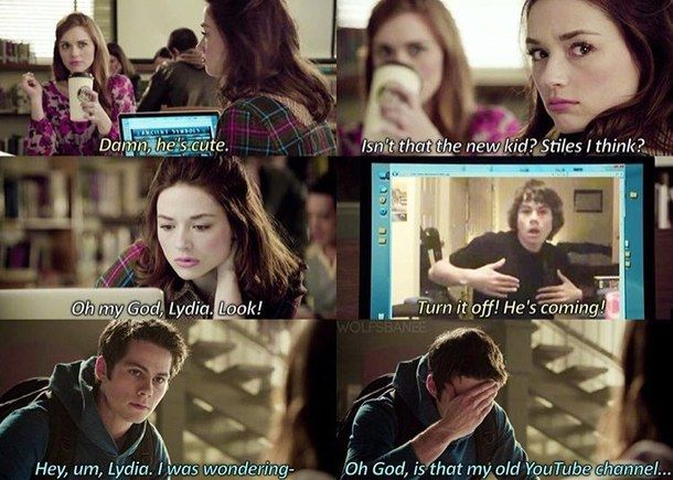 stiles stilinski, stiles and lydia, teen wolf, stydia