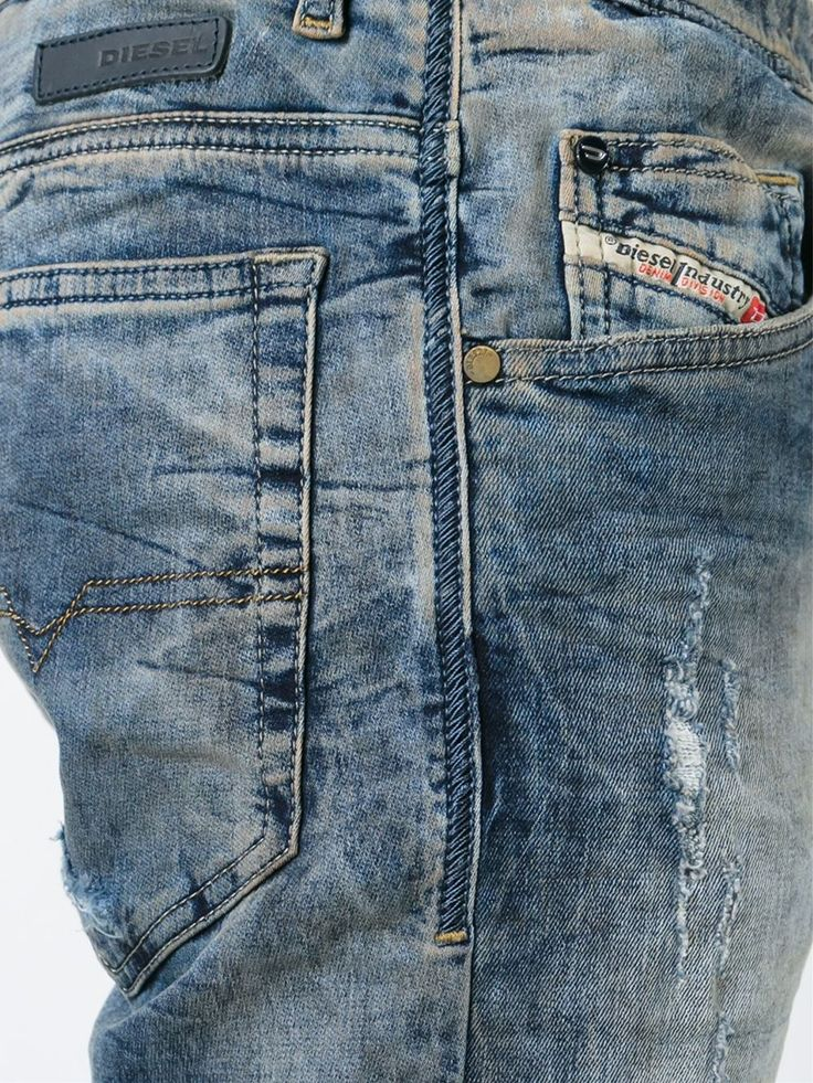 Diesel Calça Jeans - Jean Pierre Bua - Farfetch.com