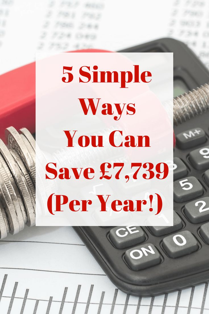 Looking to Save even more money this year? Sam Jefferies from The Money Nest explains how you can save over 7k with these five simple steps.