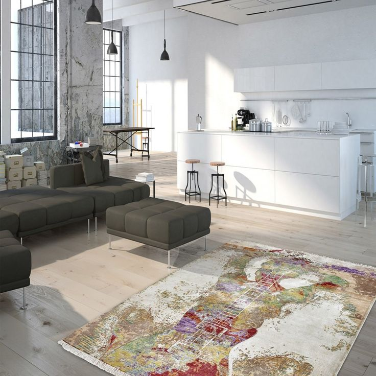 Sound Of Obsession SOO 110 Multi Rug Sound Of Obsession SOO 110 Multi Rug.The use of noble natural elements, that is the basis of the high-quality carpets. Lovely and fascinating for a modern day décor. #woolrugs #abstractrugs #modernrugs #handmaderugs #luxuriousrugs