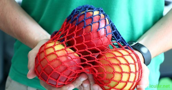 Einkaufsnetz häkeln – selbstgemachte Alternative zur Plastiktüte