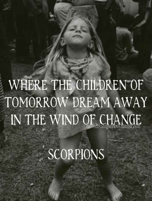 Wind of change, Scorpions <3