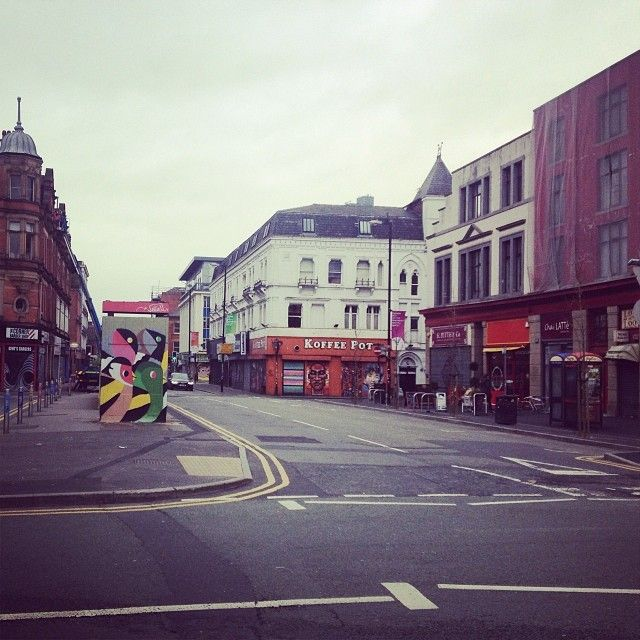 Sunday morning in the Northern Quarter, Things to do in Manchester aside for joining the Social Media: The Essential Toolkit training course that takes place on December 8th bit.ly/1xQnxTs #thingstodo #Manchester