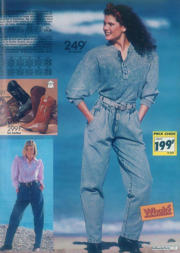 Les 81 meilleures images du tableau Vintage sur Pinterest. Les 81  meilleures images. Catalogue Automne Hiver 1989 1990  blancheporte 0c9a9326199